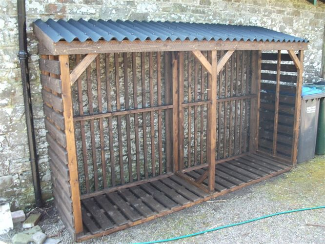 Firewood Storage Shelter : Best images about firewood storage on pinterest wood