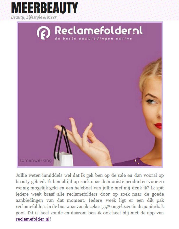 Bekijk het hele artikel op: http://www.meerbeauty.nl/lifestyle/tip-reclamefolder-app/
