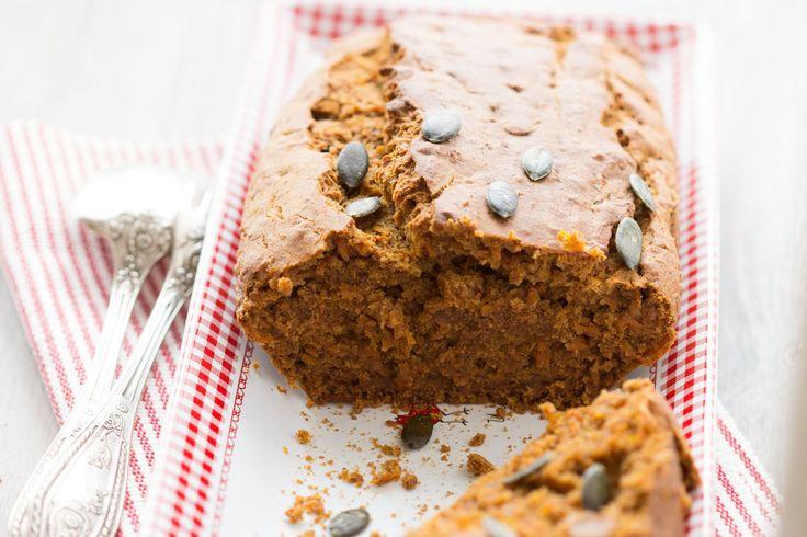 Pumpkin bread sans gluten ou gâteau à la courge comme un banana bread (vegan) - Au Vert avec Lili