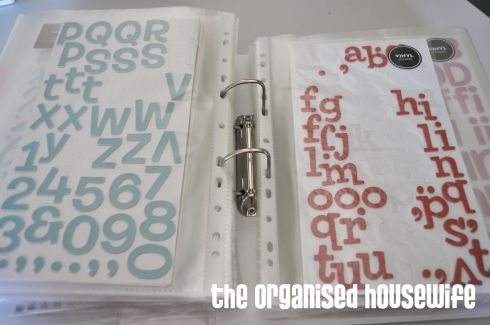 How to organize your alpha stickers. @Katie Blair @Kelli Ford This made me think of all our Thickers!!