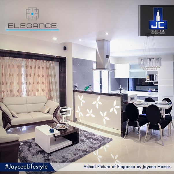 Experience the quality of being graceful and stylish only at the super-luxurious, high-rise Elegance by Jaycee Homes, that delivers Manhattan style apartments in Andheri West. #JayceeLifestyle