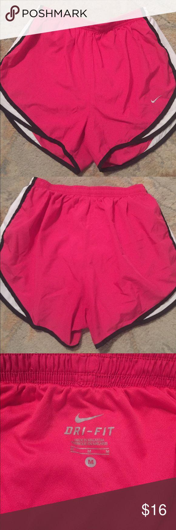 Nike Shorts Women's Nike Shorts in Pink and Black - EUC. Nike Shorts