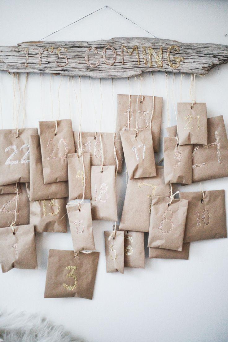 A Month of Merriment // DIY Driftwood Advent Calendar — Treasures & Travels