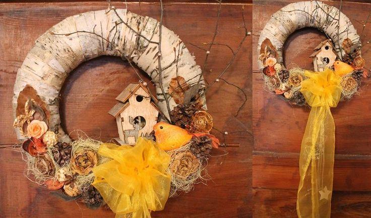 Věnec na dveře - Povánoční věnec na dveře  Nová kolekce  | vavavu