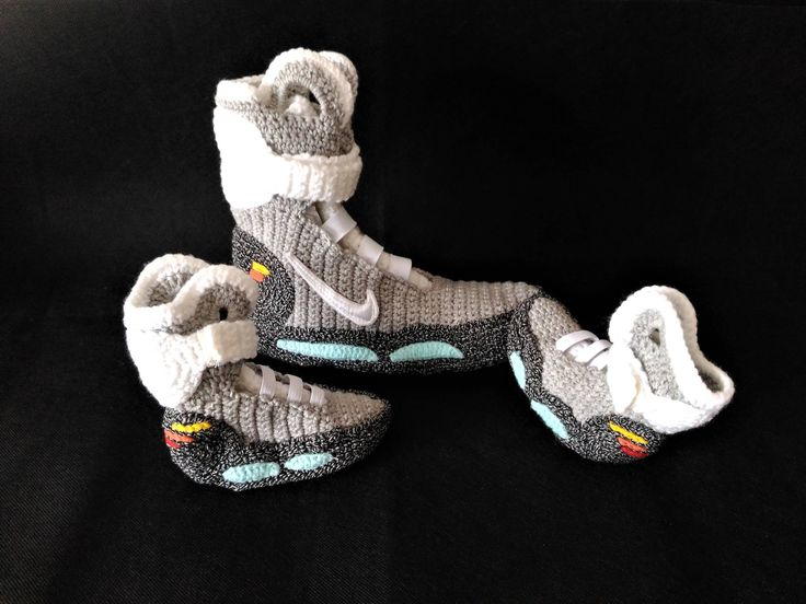 Back To The Future Nike Air Mag Mommy And Me Matching Shoes