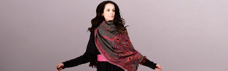 Ladies Scarves - Buy fashion accessories for women at an affordable price. Check out the wide range of Scarves, Tunics, Kaftans, Clutches, Ponchos