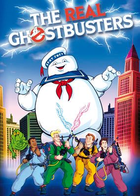 "Check out ""The Real Ghostbusters"" on Netflix"