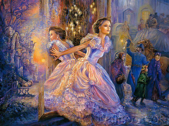 Celestial Journey - Fantasy World of Josephine Wall (Vol.01) - Josephine Wall Fantasy Paintings :  Alternative Reality   2