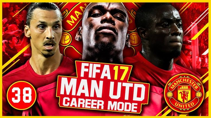 FIFA 17 Career Mode: Manchester United #38 - Tough Games! (FIFA 17 Gameplay)