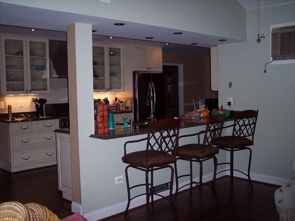 Open up galley kitchen kitchen pinterest posts for Galley kitchen open to dining room