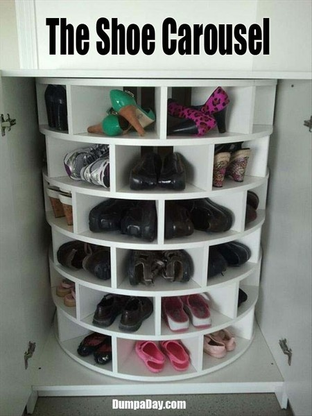shoe carousel...I need one!