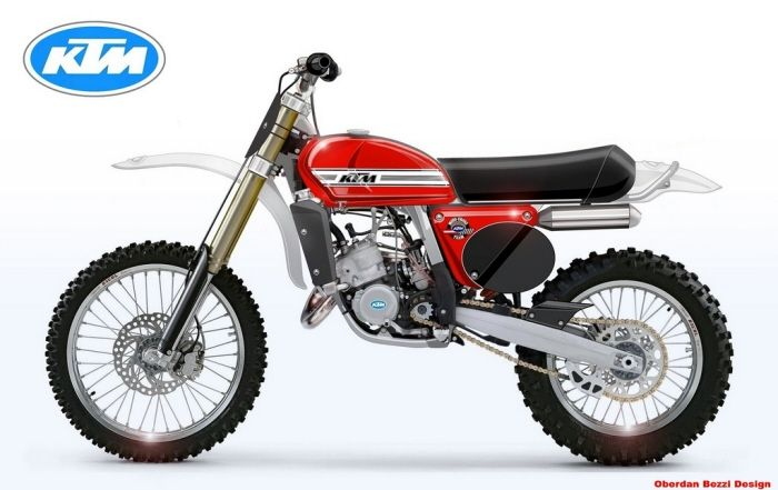 KTM 125 CLASSIC SERIES Look MC 1974
