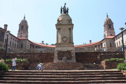 Pretoria: The Union Buildings, designed by Sir Herbert Baker, are the official seat of the South African government