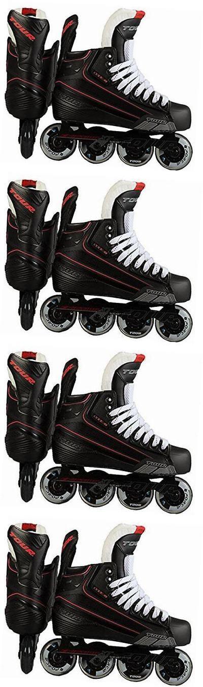 Roller Hockey 64669: Hockey Code 7 Senior Inline Hockey Skates Black Size 8 -> BUY IT NOW ONLY: $170.27 on eBay!