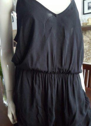 Kaufe meinen Artikel bei #Kleiderkreisel http://www.kleiderkreisel.de/damenmode/jumpsuits/142179862-schwarzer-jumpsuit-lang-mit-verstellbaren-trager