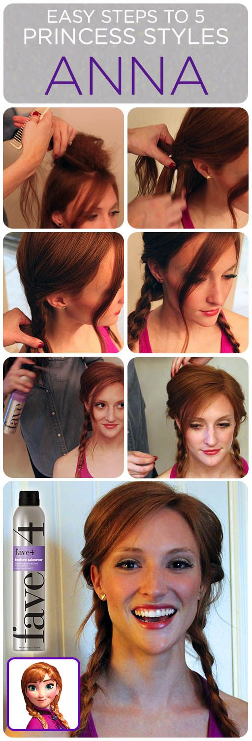 Anna's hair how-to!