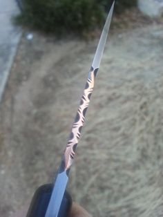 I keep trying the Vine Pattern - The Knife Network Forums : Knife Making Discussions