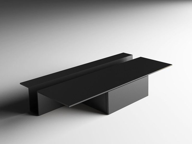 Download the catalogue and request prices of Grek by Living Divani, low rectangular coffee table design Buratti Architetti