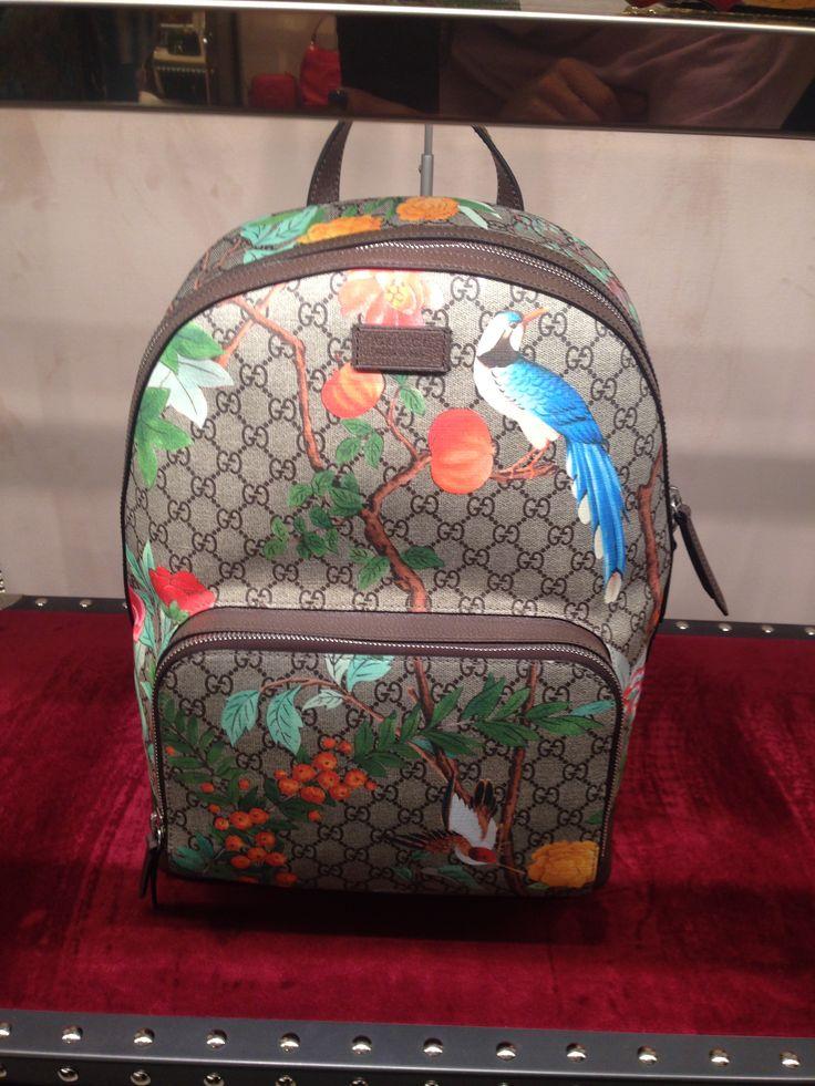 Louis Vuitton backpack - pretty handy I imagine.