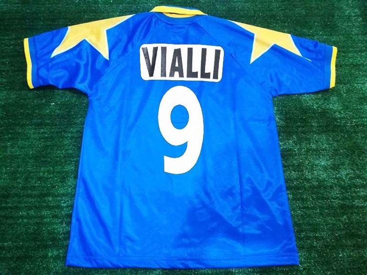 Classic Football Shirts Juventus Final Champions League 1996 VIALLI #9 Size M #Kappa #Jerseys