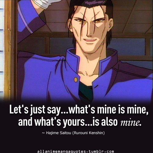 Rurouni Kenshin Hmm, I'm Not Sure Whether