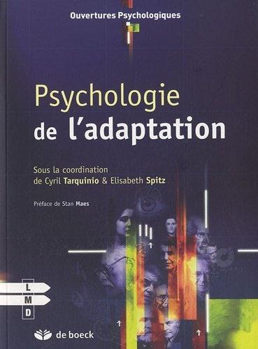 Psychologie de l'adaptation de Elisabeth Spitz