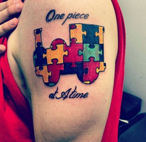 30 Digital Autism and Autism tattoo Designs and Meanings