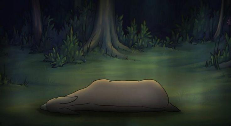 """Yaşam'a aşık olan Ölüm, ona dokunamaz. Dokunursa, Yaşam ölür. Marsha Onderstijn'in """"Ölümün Ömrü"""" adlı animasyonu işte böyle bir film."""