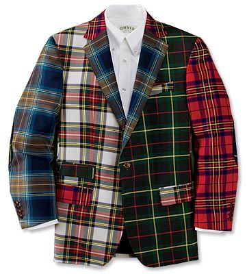 Dundee Panel Tartan Sportcoat