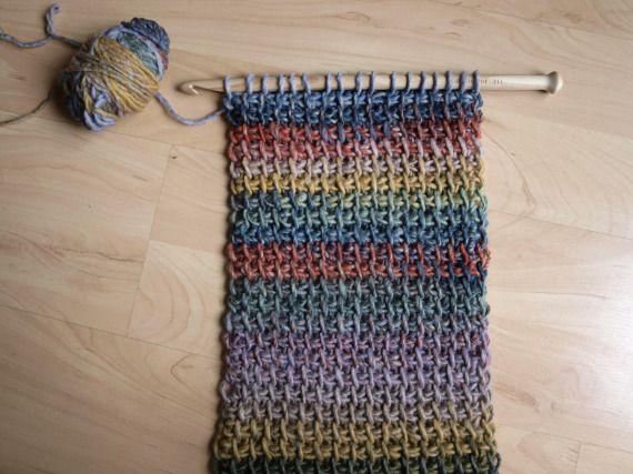 Ganchillo XL Tunecino 14mm , Crochet, Accesorios, Madera, Accesorios