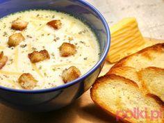 Pyszna zupa serowa