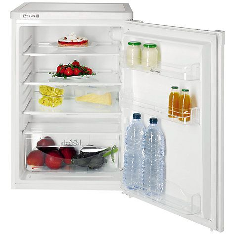 Buy Indesit TLAA10 Larder Fridge, A+ Energy Rating, 55cm, White Online at johnlewis.com £160.