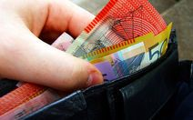 How much cash do you carry around in your wallet?