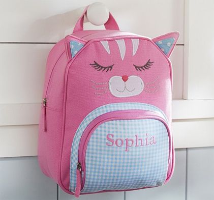 Personalized Kitty Backpack At PBK