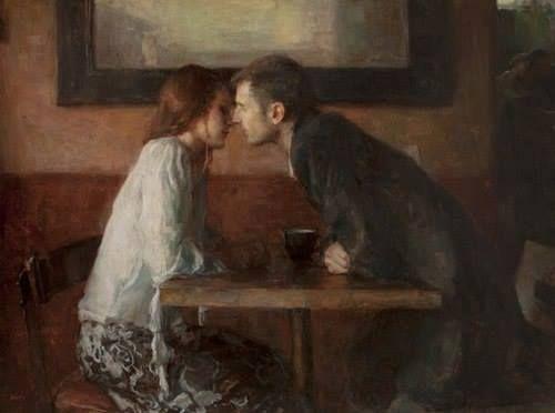 Rubando al silenzio lo sguardo _cantano l'incanto di un bacio. Aria Mich