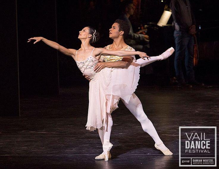 Francesca Hayward & Marcelino Sambé perform an excerpt from Rhapsody - Photo: Erin Baiano