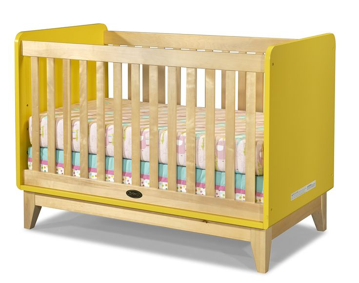 Amazon.com : Zutano Tivoli Convertible Crib, Sunny/Natural : Baby