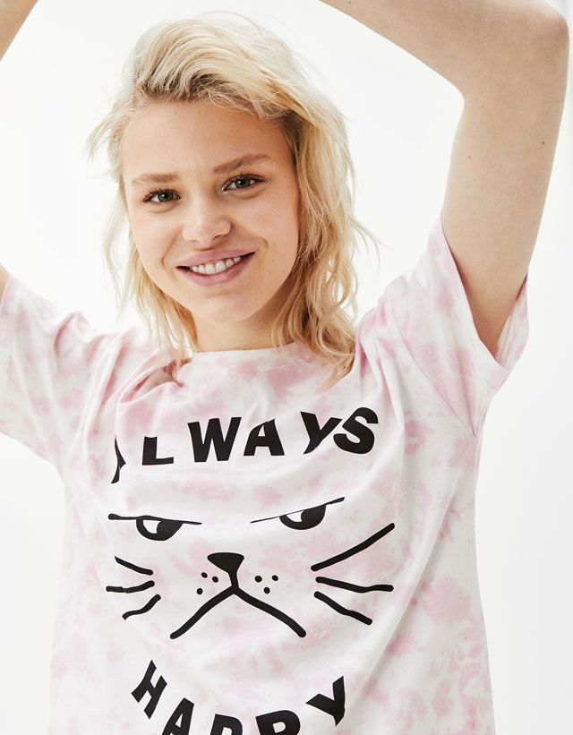 Camisetas de mujer - Primavera Verano 2017   Bershka