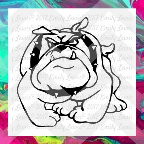 Bulldog svgs - Bulldog svg files - bulldog clipart…