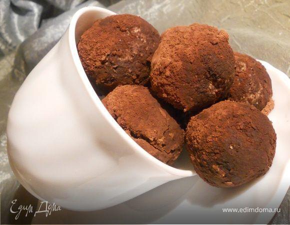 Шоколадные конфеты с ромом и апельсином