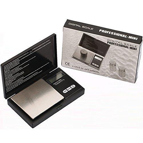 Oferta: 10.99€. Comprar Ofertas de Sunjas Balanza Digital de Bolsillo Smart Weigh SWS 200 * 0.01g - Color Negro barato. ¡Mira las ofertas!
