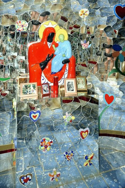 138 best niki de saint phalle images on pinterest draw - Niki de saint phalle le jardin des tarots ...