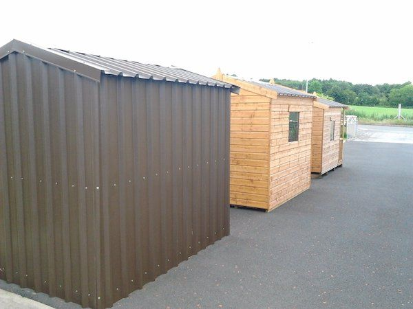 Need some extra storage after Christmas?We have a wide range of wooden and metal garden sheds available.Sizes from 6' x 4' to 32' x 12'.Wooden sheds come felt lined and with a metal non drip roof as standard.Metal sheds come with a wooden floor so there is no need for an expensive concrete base.We have a range of our sheds on display. Contact Brian for more information on 0876792064.#xtor=CS1-41-[share]