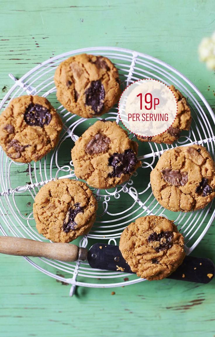 These decadent cookies are lovely and crumbly. If you prefer you could use just 150g of one type of chocolate