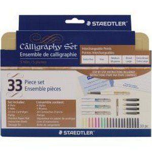 Staedtler - Calligraphy Pen Set 33 Pieces   CraftOnline.com.au