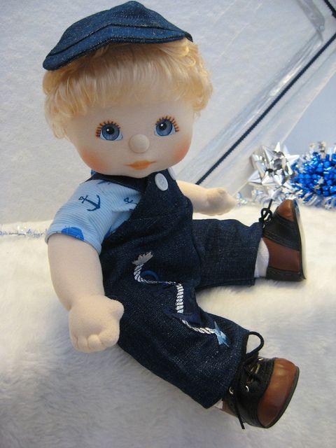 My Child Doll Blonde Boy  ----  Anchor's Away
