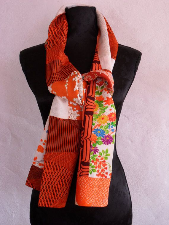 Just finished this one.  Vintage kimono patchwork silk