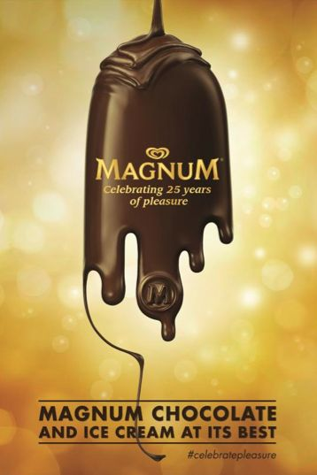 magnum ice cream GOLD posters - Google Search