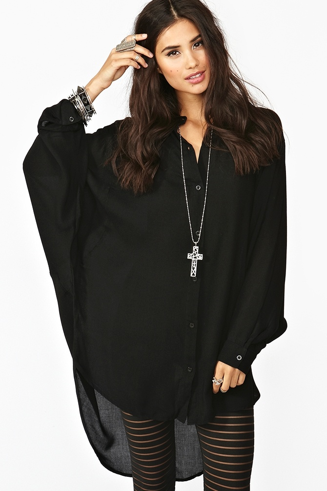 Batwing Shirt in Clothes at Nasty Gal