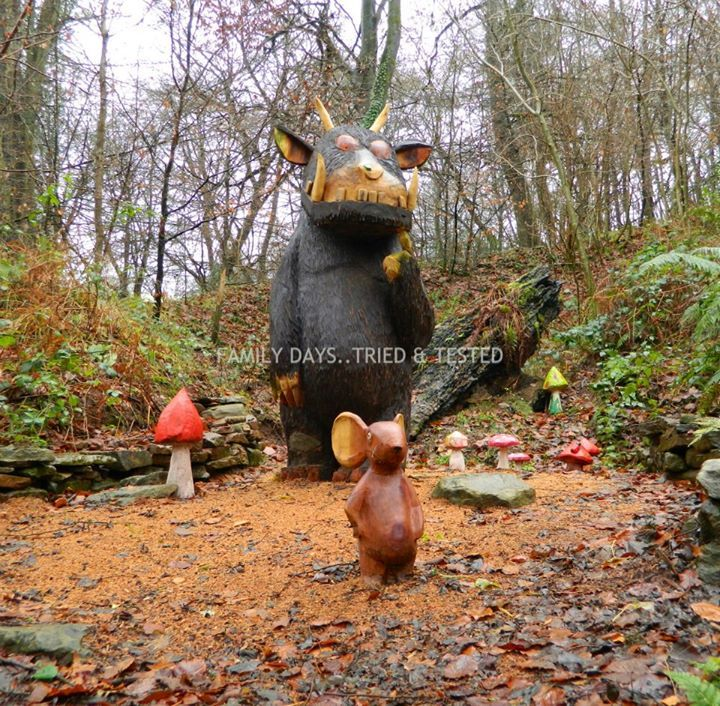 "The Gruffalo Trail at Dean Heritage centre, Forest of Dean looks fab! Photo by Family days. Tried & tested. ("",)"
